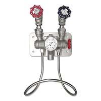 不锈钢蒸汽冷水混合器